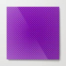 Red & Purple I Metal Print
