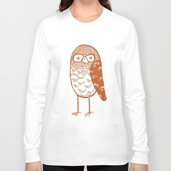 Neutral Owl Long Sleeve T-shirt
