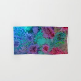 Flowers abstract #2 Hand & Bath Towel