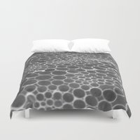 bubble Duvet Covers featuring bubble by Meag