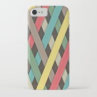 striped iPhone & iPod Cases featuring Striped by General Design Studio