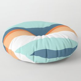 venice sunset Floor Pillow