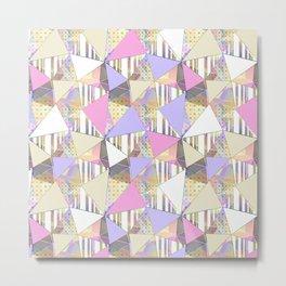 Cute abstract pattern. Metal Print