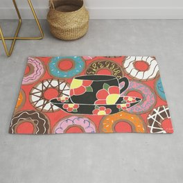 Delectable Donuts Rug