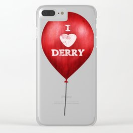 I love Derry Clear iPhone Case