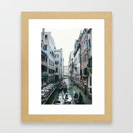 Venezia Canals Framed Art Print