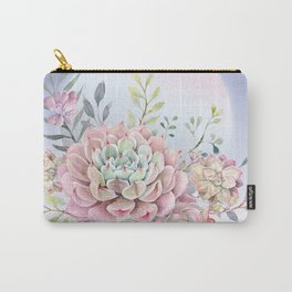 succulent full moon 5 Carry-All Pouch