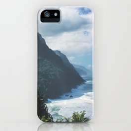 Na Pali Coast Kauai Hawaii iPhone Case
