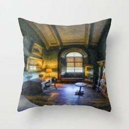 Princess's Pamper Room Throw Pillow