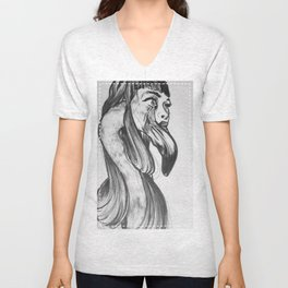 you are so beautiful // and i am so shy  Unisex V-Neck