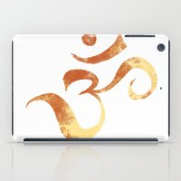 om iPad Cases featuring OM by Alexandra Doerge