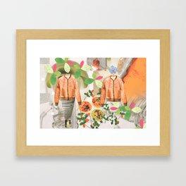 Propagation 2 Framed Art Print