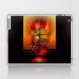 Sailing romance Laptop & iPad Skin