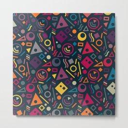 Colourful pattern Metal Print