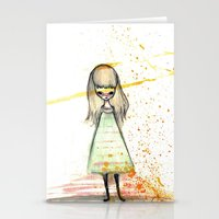 sister Stationery Cards featuring Sister by solocosmo