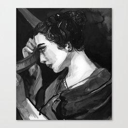 Women in Science, Hypatia Canvas Print