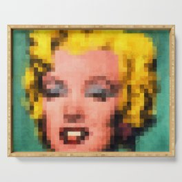 Marilyn Still Alive ? Serving Tray