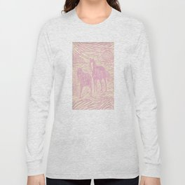 Abstract Buford and Sugar Long Sleeve T-shirt