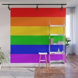 Gay Rainbow Transgender Rainbow Flag Wall Mural