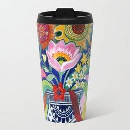 Late Summer Blooms Travel Mug