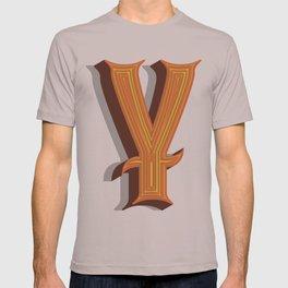 Letter Y T-shirt