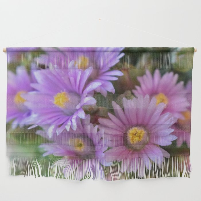 Blooming Succulents Wall Hanging
