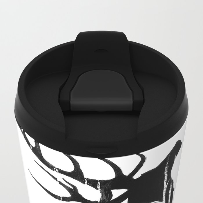 GIANT ELK Metal Travel Mug