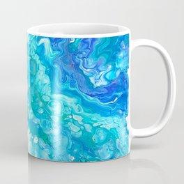 Aqua Ocean Blue Kaffeebecher
