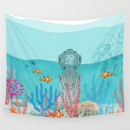 WATER DOG Wall Tapestry