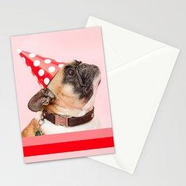 Pug Birthday Party! Stationery Cards