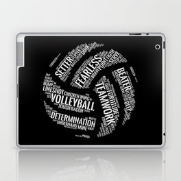 Volleyball Wordcloud - Gift Laptop & iPad Skin