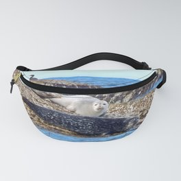 Seals resting on the Rocks Fanny Pack