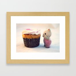 Now That's a Cupcake Framed Art Print