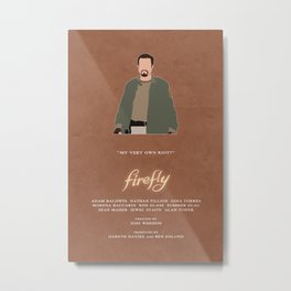 Firefly - Jayne Metal Print