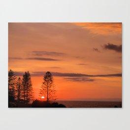 Kings Beach Sunrise Canvas Print