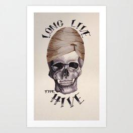 Long Live the Hive. Art Print