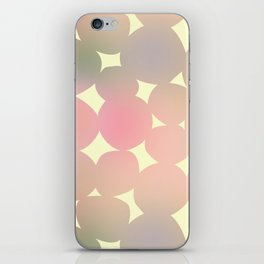 ombre pebbles iPhone Skin
