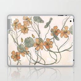 Winding flowers Laptop & iPad Skin