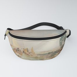 "J.M.W. Turner ""Shipping at the Mouth of the Thames"" Fanny Pack"