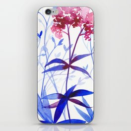 Garden by the Sea iPhone Skin