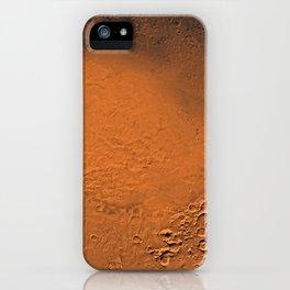 Hellas Planitia, Mars iPhone Case