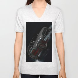 Infiniti QX70 Artrace edition Unisex V-Neck