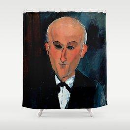 "Amedeo Modigliani ""Max Jacob"" Shower Curtain"