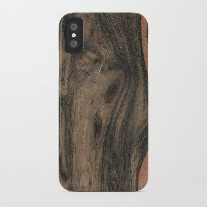 Birdseye Paldao Wood iPhone Case