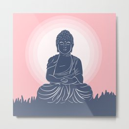 Peace, Love, Harmony.  Metal Print