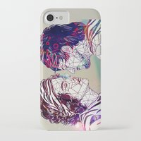 larry iPhone & iPod Cases featuring Geometric Larry by Peek At My Dreams