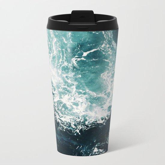 Sea waves II Metal Travel Mug
