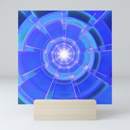 Sapphire Scope Mini Art Print