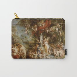 The Feast of Venus by Peter Paul Rubens Carry-All Pouch