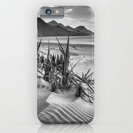 Dunes. Genoveses Beach. Bw iPhone Case